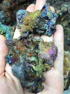 Lek Lai , Leklai, Geothite, Stones, Collectibles ( Bundle Sale of 2 pcs )