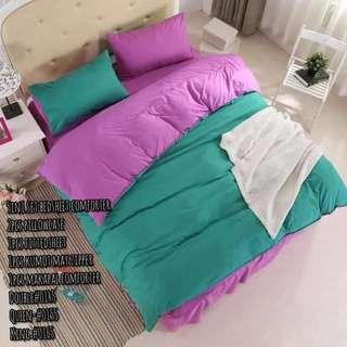 KOREAN 5N1 BED COVER SET(D:1600/Q:1800/K:2000)