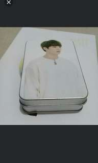 BTS Jungkook Lomocard with tin case