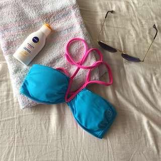 Ripcurl Blue Bikini Top