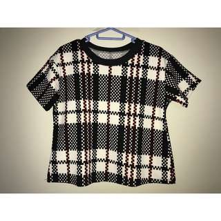 Blouse in Checkered