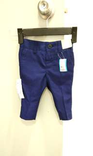 🆕 NEXT Formal Navy Trousers 3-6M (Boy) #July70
