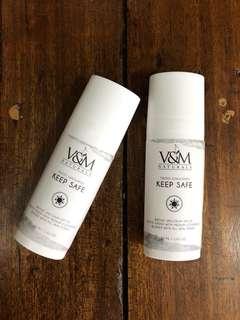 V&M Naturals : Keep Safe Tinted Sunblock