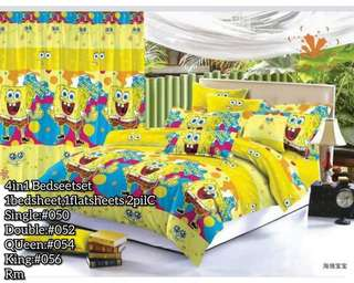CHARACTERS  4IN1 BED COVER SET(S:650/D:750/Q:850/K:950)