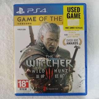 PS4 The Witcher 3 Wild Hunt | GOTY
