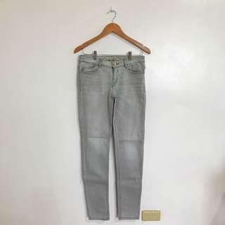 Zara Light Grey Skinny Jeans