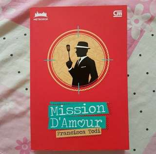 Preloved Metropop novel Mission D'Amour