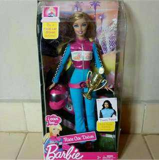Barbie I Can Be Race Car Driver