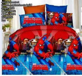 CHARACTERS 4N1 BED COVER SET(S:650/D:750/Q:850/K:950)