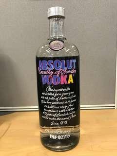 Absolut Vodka Andy Warhol Edition 1L