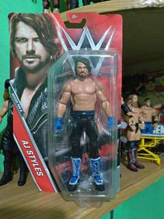 WWE AJ STYLES Series #68 B (Royal Rumble Debut)