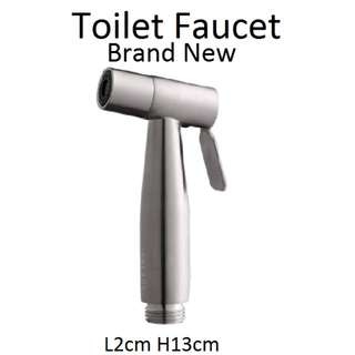 Faucet - Toilet Faucet - 304 Stainless Steel - Brand New Pack