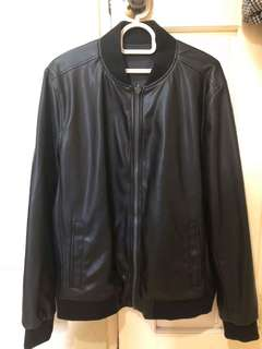 Original CK bomber jacket - soft leather