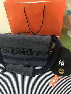 SUPERDRY MESSENGER 2way bag