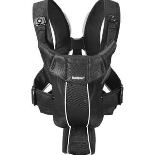 BABYBJORN Baby carrier synergy - black mesh (Authentic)