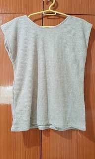 Knitted tan top
