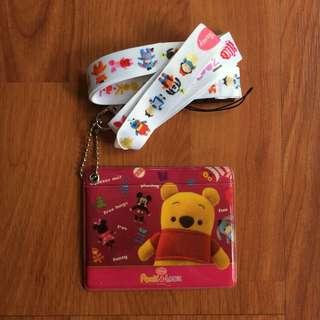 BN Disney Pook-a-Looz Lanyard / Cardholder / Card ID