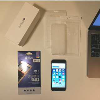 iPhone 6 64GB + New Screen Protector and More