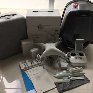 DJI Drone Phantom 4 Pro - still under DJI warranty