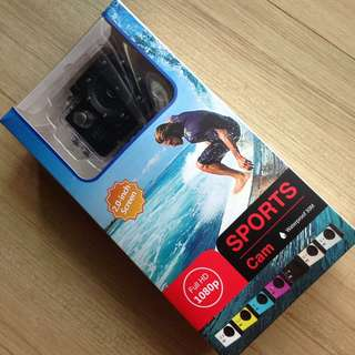 Sports Cam waterproof 30M 1080P