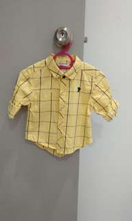 Baby Poney Yellow Shirt 6-12M #July70