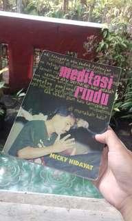 Meditasi Rindu by Micky Hidayat