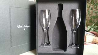 Dom Perignon 香檳酒杯一對