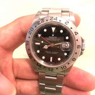 Rolex 16570 explorer 2 II