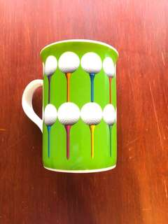 Golfers' Mug - Bone China