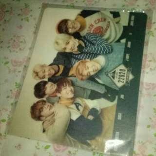 RARE ZIP CODE 22920 BTS 방탄소년단 2ND MUSTER Mouse Pad BTS OFFICIAL 41161