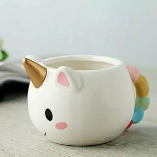 Unicorn 3D Ceramic Coffee Cup Mug