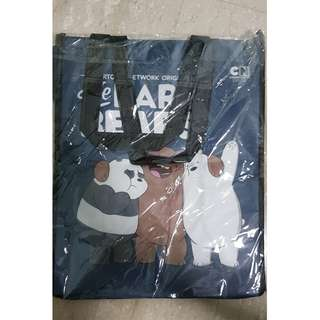 🚚 Brand New WeBareBears Tote Bag