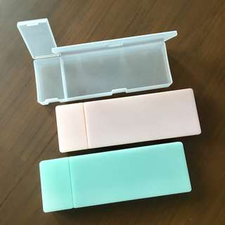 🚚 Plastic pencil box case - 3 colors