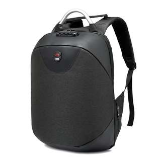 Business Anti Theft Laptop Backpack/USB charger/Lock Code