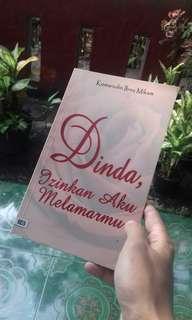 Dinda, Izinkan Aku Melamarmu by Komarudin Ibnu Mikam