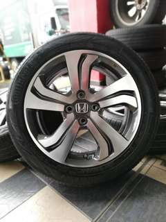 Original city v specs 16 inch tyre 95%