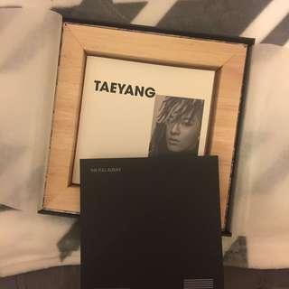 BIG BANG MADE album 限定版 (太陽YB) 連寫真加掛牆畫