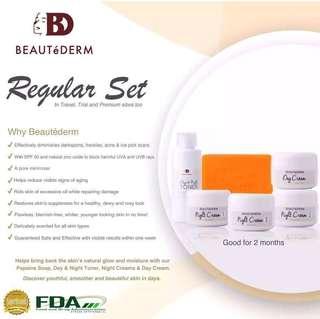 Beautederm - Regular Set (2 months use)