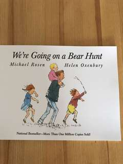 We're going on a bear hunt (Michael Rosen & Helen Oxenbury)