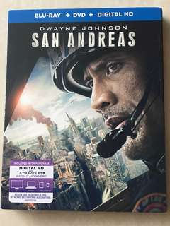 San Andreas Blu Ray Movie