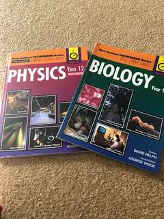 bio and physics year 12 books
