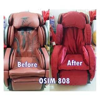 (Made to Order) OSIM / OTO / Ogawa Massage chair cover