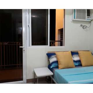 Condo for rent Daily Weekly Monthly SM Field Residences Sucat Paranaque