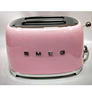 [LOW PRICE & Brand NEW] Pink SMEG Toaster - Perfect housewarming gift or conversation piece for your home