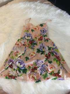 Chic Floral Dress (Repriced)