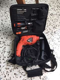 Black & Decker CD50 hammer drill