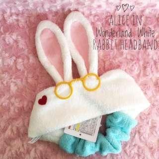Disneyland Alice Bunny hairband