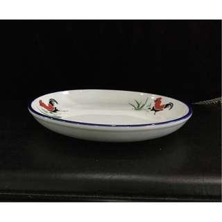 White porcelain plate 22cm