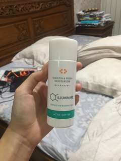 smooth and fresh moisturizer illuminare science for radiant skin ACNE