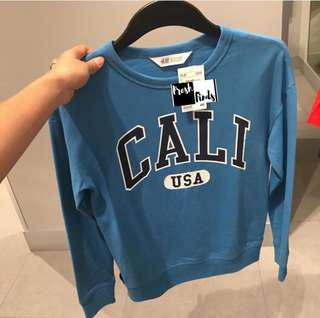H&M BRAND NEW SWEATER/JACKET 10-12y/o